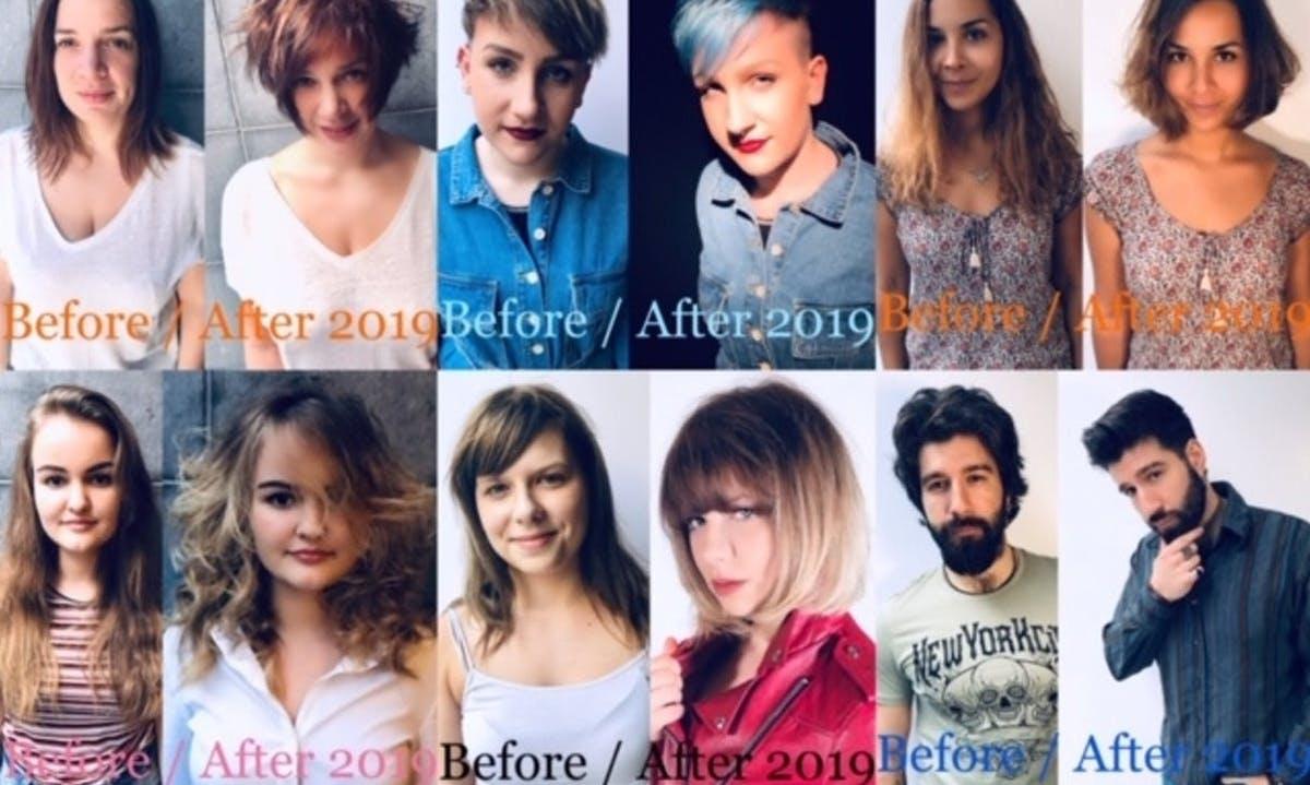 Before after été 2020