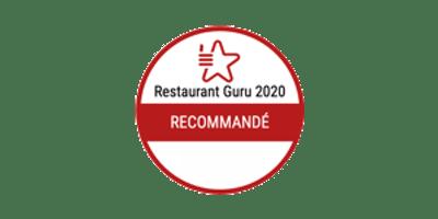 Recommandé par Restaurant Guru 2020
